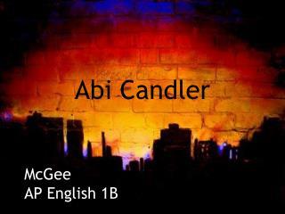 Abi Candler