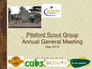 Pitsford Scout Group Annual General Meeting May 2014