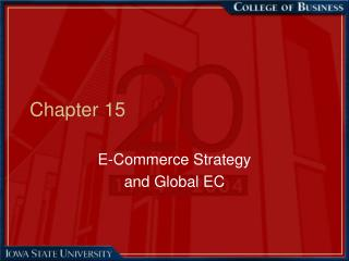 E-Commerce Strategy  and Global EC