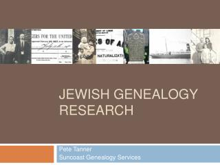 JEWISH GENEALOGY RESEARCH