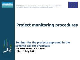 Project monitoring procedures