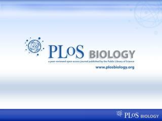 PLoS Biology — Journal Features