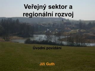 Veřejný sektor a regionální rozvoj