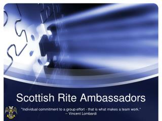 Scottish Rite Ambassadors
