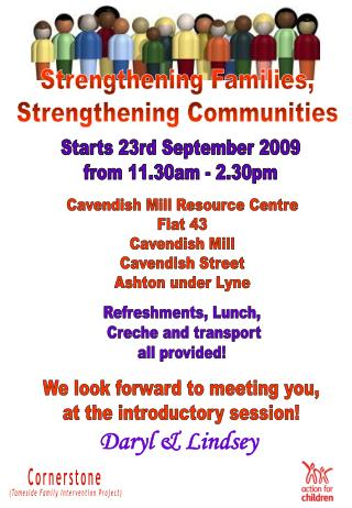 Starts 23rd September 2009 from 11.30am - 2.30pm