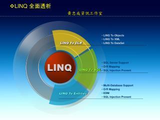 LINQ  全面透析  黃忠成資訊工作室