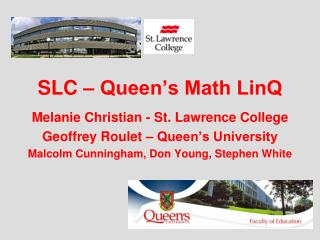 SLC – Queen's Math LinQ