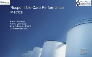 Responsible Care Performance Metrics