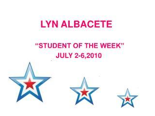 LYN ALBACETE