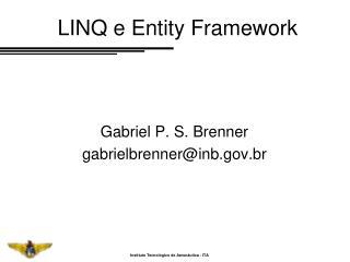 LINQ e Entity Framework
