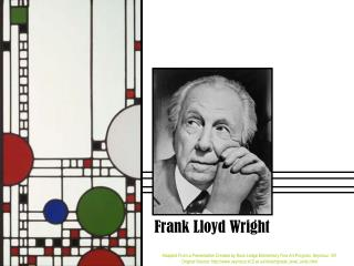an introduction to the life of frank lloyd wright an american architect Acclaimed as the father of skyscrapers, the quintessentially american icon frank lloyd wright (1867-1959) was an architect of aspiration he believed in giving.
