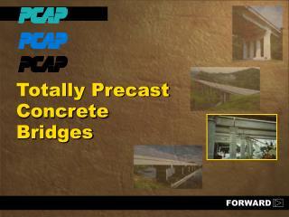 Totally Precast Concrete Bridges