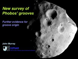 New survey of  Phobos' grooves Further evidence for  groove origin