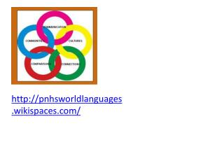 pnhsworldlanguages.wikispaces/