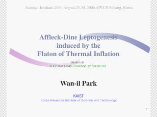 Affleck-Dine Leptogenesis  induced by the  Flaton of Thermal Inflation