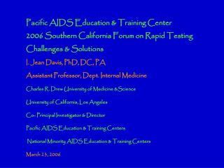 Routine STD  (HIV/Chlamydia/Gonorrhea) Counseling and Testing in the  Urgent Care Unit of