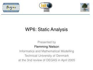 WP6: Static Analysis