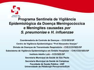 Coordenadoria de Controle de Doenças – CCD/SES /SP