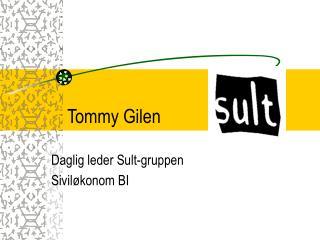 Tommy Gilen