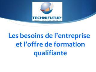 Les  besoins de l'entreprise et l'offre de formation qualifiante