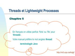 Threads et Lightweight Processes