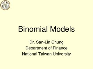 Binomial Models