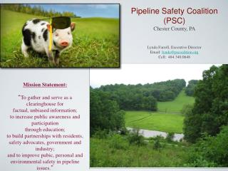 Pipeline Safety Coalition (PSC) Chester County, PA