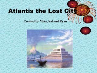 Atlantis the Lost City