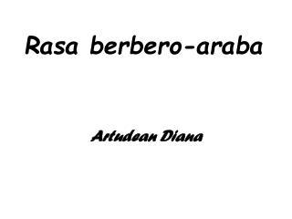 Rasa berbero-araba