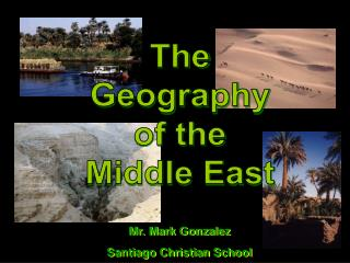 The Geography of the Middle East