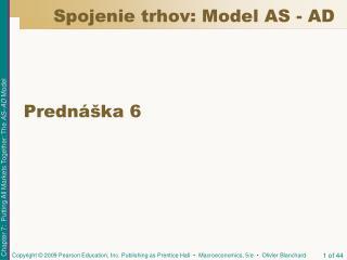Spojenie trhov: Model AS - AD