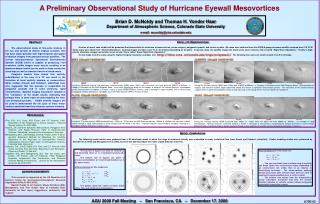 A Preliminary Observational Study of Hurricane Eyewall Mesovortices