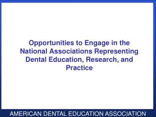 Engaging ADEA