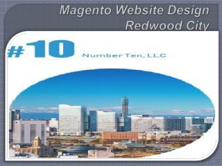 Magento Website Design Redwood City- www.nr10.com