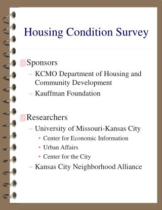 Housing Condition Survey