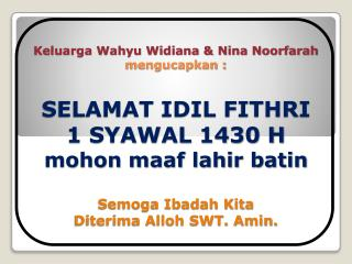 banner id fitri 1430 h