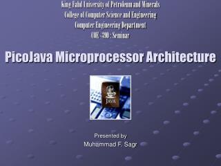 PicoJava Microprocessor Architecture