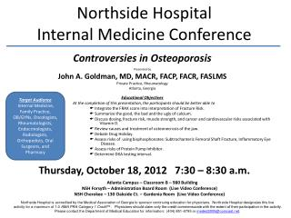 Northside Hospital Internal Medicine Conference