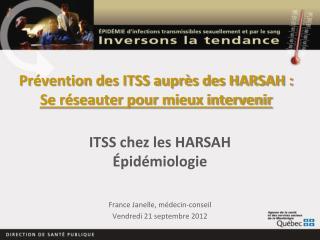 Prévention des ITSS auprès des HARSAH : Se réseauter pour mieux intervenir