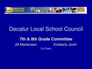 Decatur Local School Council