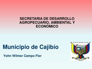 Municipio de Cajibío