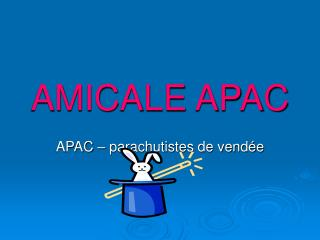 AMICALE APAC