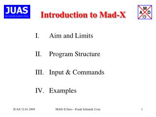 Introduction to Mad-X
