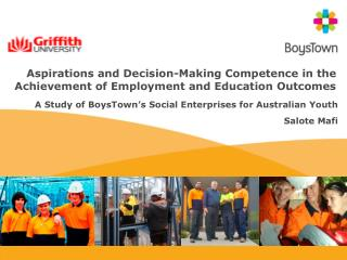 Aspirations and Decision-Making Competence in the Achievement of Employment and Education Outcomes