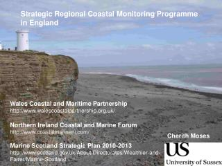 Strategic Regional Coastal Monitoring Programme in England