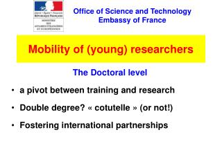 Mobility of (young) researchers