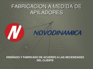 FABRICACION A MEDIDA DE APILADORES