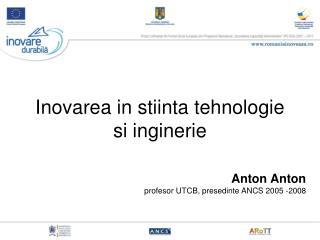 Inovarea in stiinta tehnologie si inginerie