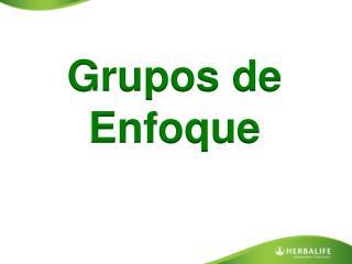 Grupos de Enfoque