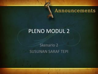 PLENO MODUL 2